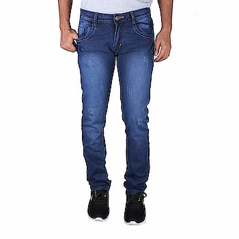 Drywa Men's Regular Fit Denim Jeans Size (Blue)  Fit Type: Regular Fit Style - Casual wear. Material - Denim jeans. Wash care instructions: Do not bleach, dry in shade What you see is what you get: We strive to make our colors as accurate as possible. due to monitor settings, monitor pixel definitions, we cannot guarantee that the colour you see on your screen as an exact colour of the product This men's jeans is made with 100 % pre-shrunk and pill-resistant Denim They are very stretchy. Still perfect fit even after the wash. Disclaimer - Kindly refer to the size chart (also in images) for fitting measurements  Buy Now :- https://amzn.to/2QGIq6C