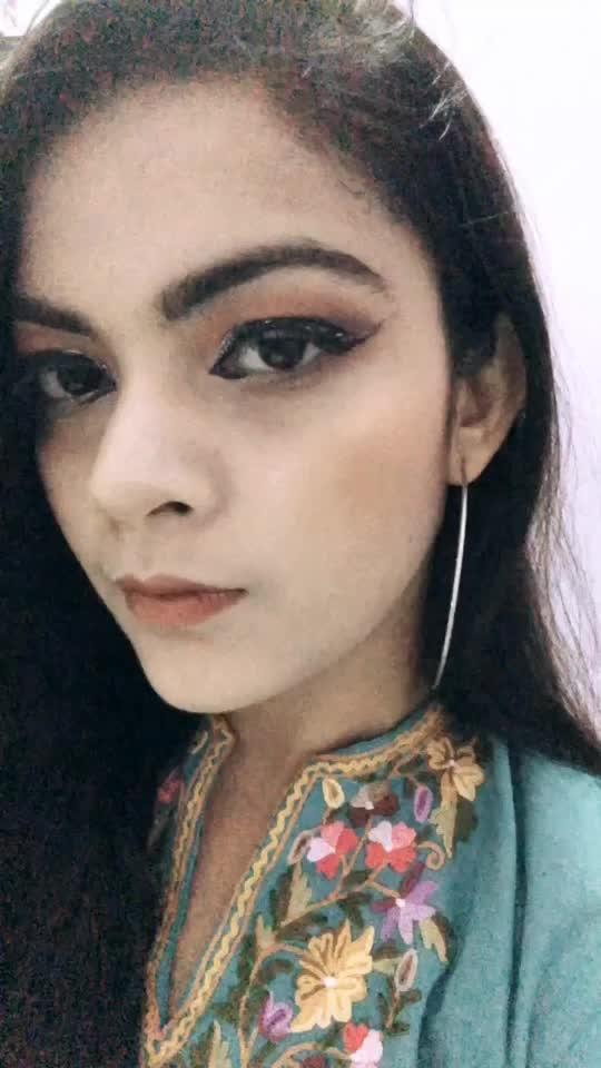 Makeup look #makeuplover #lookgoodfeelgood #fashionquotient #rangoli