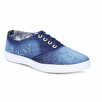 Tryfeet Women's Canvas Blue Sneakers  Upper Material: Canvas, Sole Material: EVA 100% quality of products are sure. Tryfeet is an iconic youth brand, designed to match the latest trends of the new generation. A perfect combination of comfort, style, and workmanship. Ideal for Womens  Buy Now :- https://amzn.to/2UF6UMO