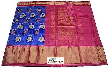 Beautiful Ikat pure silk saree Code: IKT005240 Contact : +91 8861255270 / +918792177606 Write to: anivartee108@gmail.com http://www.facebook.com/anivartee Malleshwaram, Bangalore #Anivartee #handwoven #Ikat  #ikatsaree #ikkatsareesbangalore #saree #sari #ethnicwear #indianwear #handloomsilk #handloomsarees #handloomsilksarees #handwovensarees #handloom #roposo-fashion #telugu-roposo #roposo-telugu #roposo-tamil  #roposo-hindi