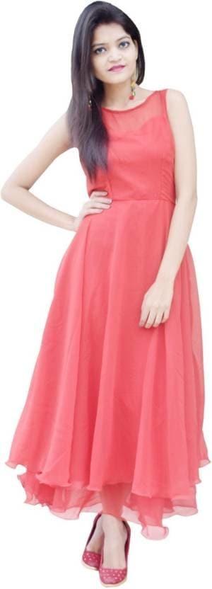 Rajkumari Women Maxi Red Dress   Length: Maxi/Full Length Fabric: Georgette Occasion: Party Sleeveless Solid Dress  #women #clothing #designer #printed #stylish #casual #long #fashionable #womensfashion #womenskurti #top #kurti #trendy #net #georgette   Buy Now:- https://bit.ly/2RNTBYA