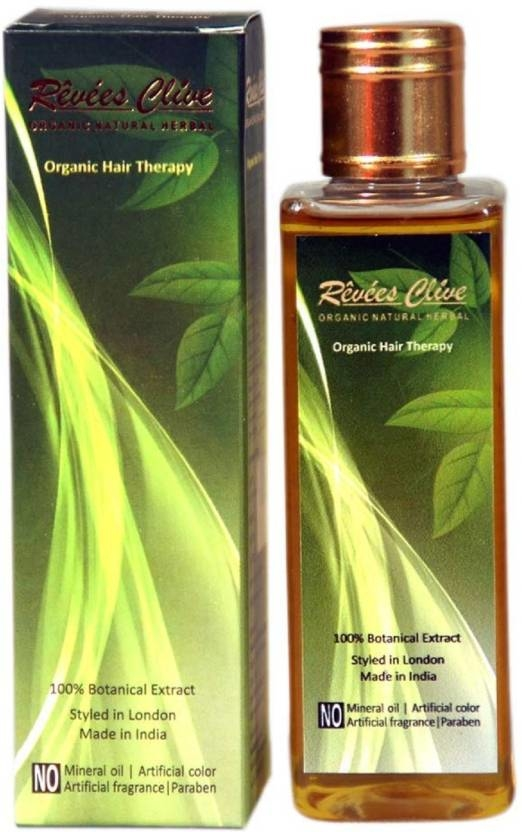 Revees Clive Organic Hair therapy 100ml   Prevent premature greying Reduce hair fall problem Promotes hair growth Control dandruff Improve hair texture and restore its natural colour  #haircare #skincare #bodyoil #hairoil #organic #grooming #moisturizer #nourishment #branded #products  Buy Now:- https://amzn.to/2RTbCVr