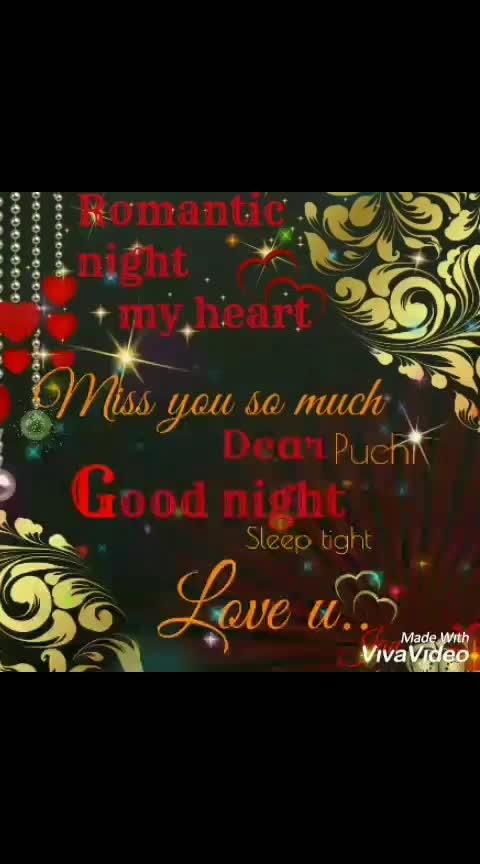 #romantic love wish good  night #romanticwhatsappstatus
