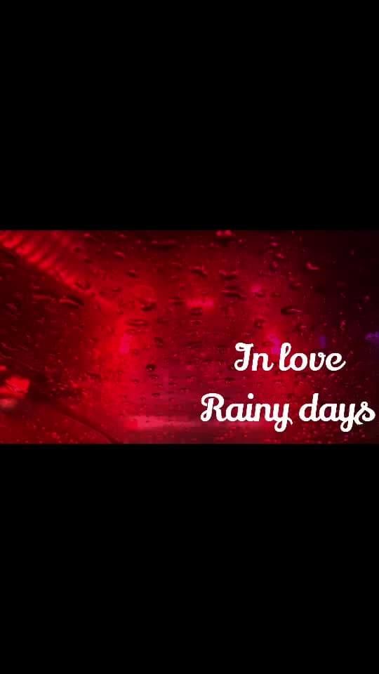 New design with Roposo of love rainy days#rainydays