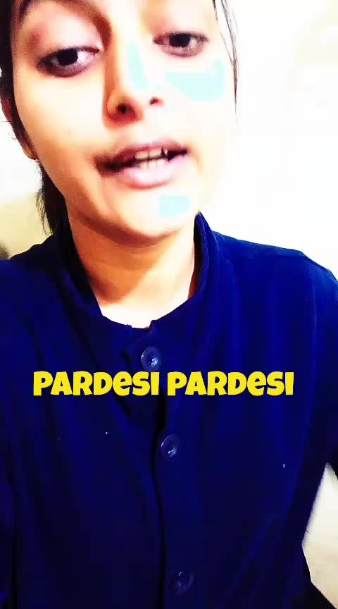 pardesi pardesi 😢 request your song in comments.. ❤ #newdaynewdeal #newvideoalert #pardesi-pardesi #aamirkhan #rajahindustani_love_karishma_kapoor #songofindia #featurethisvideo #verifyme #likecomment #requestedpost #followmeformoreupdates #roposo-share #roposocamera #roposoeffectbyme #best-song #goldendays #childhoodmemories #love-is-only-love #thanksforyoursupport