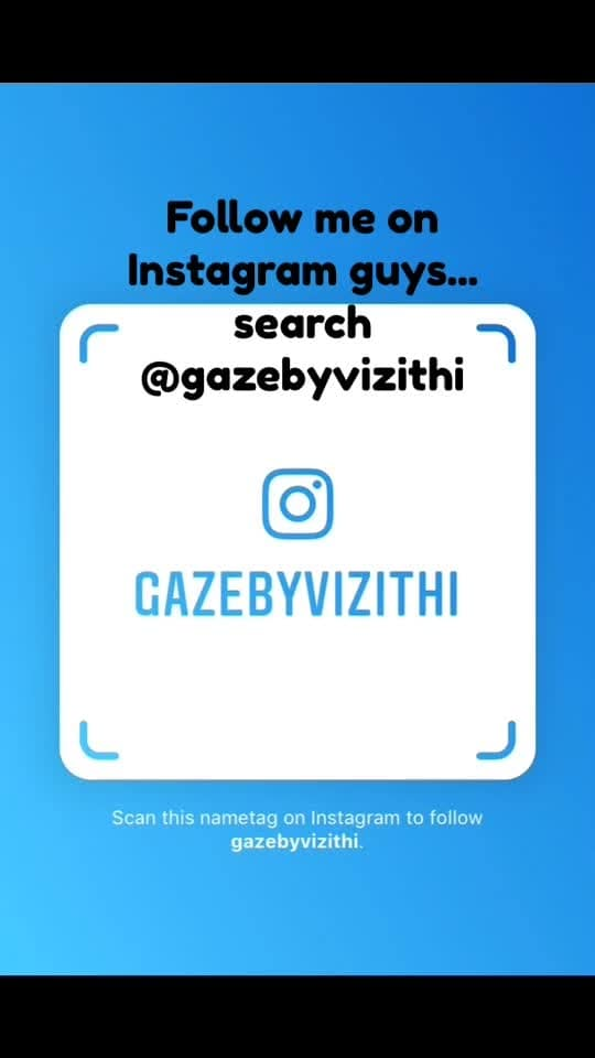 Follow me on Instagram guys.. Search @gazebyvizithi or Vizithi . . . #gazebyvizithi #vizithi #instagram #followmeplease #followme #instagramer #fashionstylist