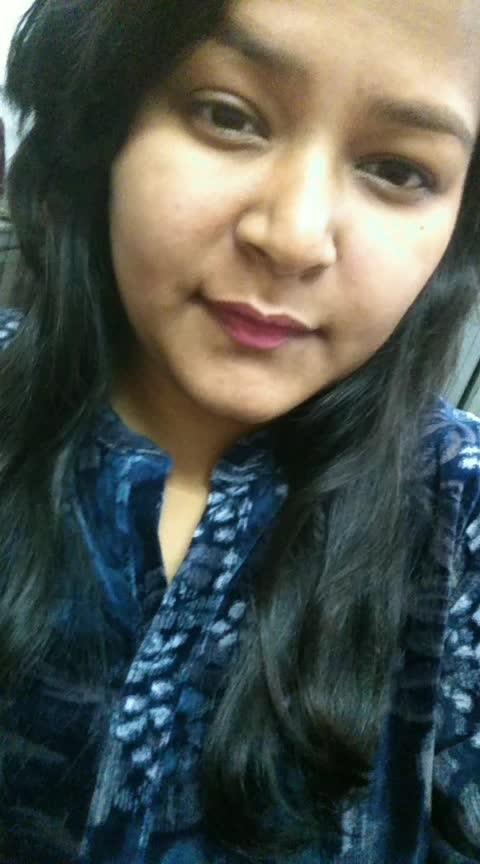 #roposo-makeupandfashiondiaries #roposo-good #roposo-goodnight #goodnight #risingstar #bollywood #roposoeffects