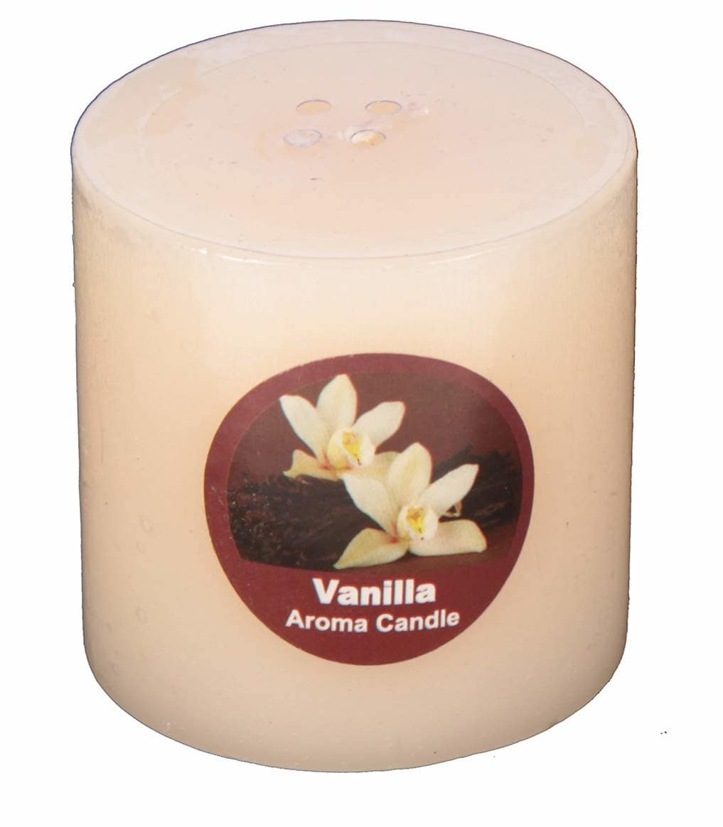 """Golden Bell Vanilla Scented Aroma Fragrance 100% Wax Perfume Pillar Candles for Home Decoration, Dimensions (2.5"""" x 2.5"""") Inches  Here are some candles of low price from the house of Goldenbell..For purchasing just click on the images..  #candles #fragrancescandles  #decorativecandles  https://www.amazon.in/dp/B07JPY7HCD?ref=myi_title_dp"""