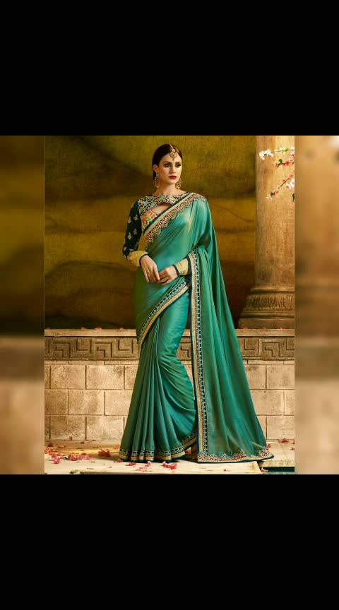 Sakshi-2 1164 @kfhub 💰 1099/- + 🚢 INR How's it guyzzzz🤔..... Yay😍 or Nay'😟...??? 👑Premium quality 📢Preference Best Quality 👗  Fabric Detail : Saree :- PAPER SILK	 Blouse :-METISILK & GEORGET Length:- 6.3 Meter including 0.80 Meter Unstitched Blouse Peice, Width:-1.14 Meter. Weight :- 850gm(approx)  #indianclothstore  #weddingsaree  #indianbride #indianwedings  #weddingbelles  #indianweddingbuzz  #bigfatindianwedding  #desiwedding  #blouse  #necklace  #jewellery  #ropo-beauty #glamour #glamorouslook  #wedding-outfits #bridaloutfit  #accessorieslove  #weddingphotography #bridallook  #lehenga  #bridesmaids  #bffwedding  #beautifulcouple  #weddingfun  #bridalshoot  #weddingphotographer  #destinationwedding  #mua  #hairstylist  #photography  #saree #designer-saree #designer #designer-wear #newarrivals #women-fashion #lakme #fashionables #bridal-fashion-designer