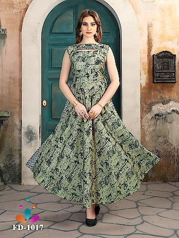 Long Party Wear Digital Printed Fancy Kurtis...💟 Price:-2400/- For More Visit 👉 https://bit.ly/2kr2TZw To Order WhatsApp us (+91) 8097909000 * * * * #kurtis #kurti #onlineshop #onlinekurtis #kurtisonline #dress #indowestern #ethnicwear #fashion #salwarkameez #deminkurtis #ethnic #womenwear #style #stylish #love #socialenvy #beauty #beautiful #pretty #swag #pink #design #styles #outfit #shoppingonline🛍