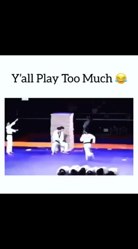 😂😂😂 volume up #karate #fun #fight #funny #funnysports #sporty
