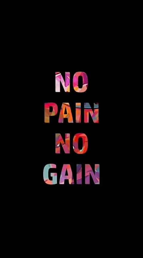 No pain No gain, #nopainnogain #motivation #motivationalquotes #energetic #energybooster #motivationalquote #quote_of_the_day #quotes #roposo-quotes