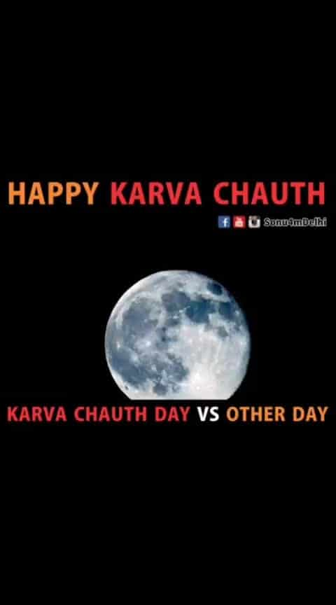 Karvaa Chauth vs Other days...