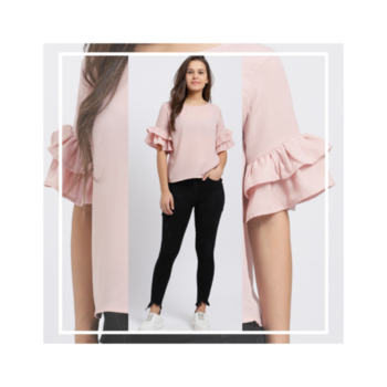 A little ruffle goes a long way with style trend!🌸 . . . . #trendarrest #trendy #trending #trendyoutfits #trendfollowers #fashion #ruffles #sleeves #pastel #pink #colours #pretty #sophasticated #layers #fashionworld #fashionista #fashionmodels #design #followforfollow #likeforlikes #instalikes #instafollow #regularfit #collection #modaymotivation #positivevibes #postoftheday