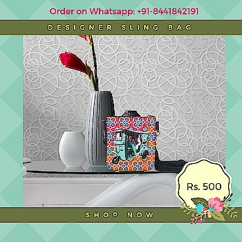 Accessorise your casual style statement with this Pouch Sling Bag, design is inspired from taxis of Shekhawati. This quirky and chick pouch sling bag will surely jazz up your appearance. A stylish pouch sling bag, made from high quality canvas fabrics with an adjustable strap and a zip closure is sure to fetch you oodles of compliments from your friends.  Bag is having Zipper Closure. #slingbag #canvasbag #sikar #designerbag #onlineshopping #buyonline #fashion #handbags #designerproducts #bagslover #indiandesigner #instafashion #instastyle #bags #Womens #jaipur #streetstyle #fashionista #quirkyfashion #quirkyaccessories #slingbag      https://www.fatfatiya.in/sling-bags.html https://www.fatfatiya.in/