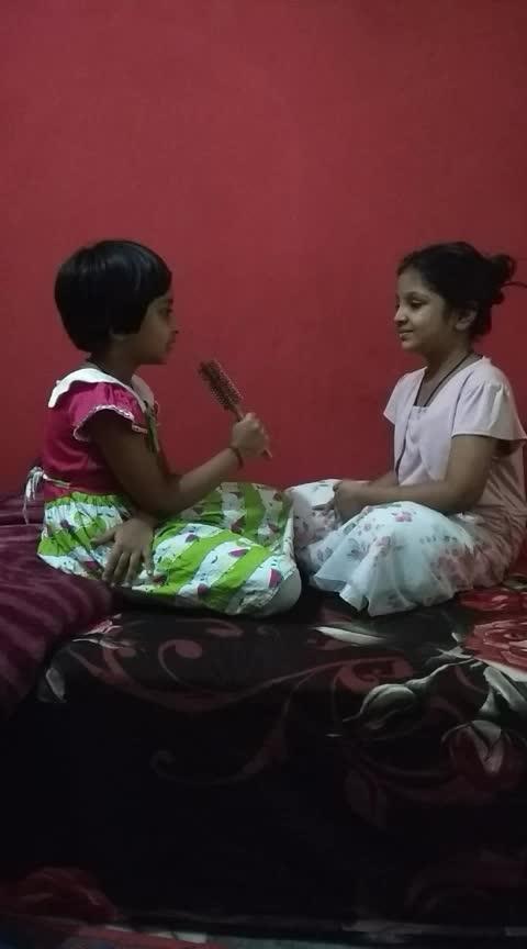 #little_supermodel #roposo_star #filmygyan #haha-funny #roposo-fun