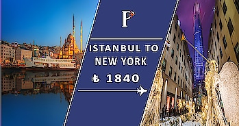 With three main airports in #New_York_City and two in #Istanbul, the flight paths, flight times, and prices between the two cities are plentiful. As far as finding a nonstop flight, only one airline offers a #direct_path from #NYC_to_Istabul—Turkish Airlines. #Book_Flights from Istanbul, Turkey (all airports) to New York City, NY (all airports) on #Puspack. (#Christmas_Offer waiting)...  #KLM Connecting in 13h 35m+. #Delta Connecting 13h 35m+ #Turkish_Airlines #Nonstop 11h 20m. Other airlines Connecting 13h 5m+