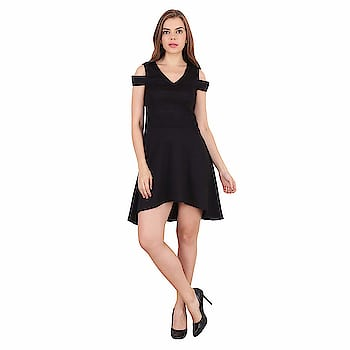 RANK Party Wear Cold Shoulder Black Skater Dress for Women/Girls If you're looking for an evening Dress that will make you stand out at that party, then this Dress is just what you need! It combines exquisite style with sexy design to create an outfit that will spark a barrage of compliments. QUALITY FABRIC: Lightweight, ultra-soft and durable Fabric fo this women dress Occasion: Party, Beach, Formal, For any casual outing, a pair of heeled shoes will be its perfect complement.  For purchasing click on this link:- https://www.amazon.in/RANK-Party-Shoulder-Black-Skater/dp/B07H1932CR/ref=sr_1_10?s=apparel&ie=UTF8&qid=1545223298&sr=1-10&th=1&psc=1  #dress #flaredress #minidress