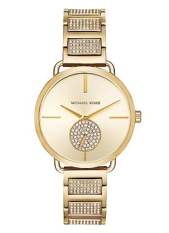 Michael Kors Portia Analog Gold Dial Women's Watch-MK3852 At Adixion.in  Buy now : http://bit.ly/2AaebeP  #michaelkors #michaelkorswatch  #watch  #wrist-watch  #wristwatchformen  #wristwatchforher  #brandedwatches  #luxurywatches  #be-fashionable  #fashion  #fashion-blogger  #fashion-addict  #womens-fashion