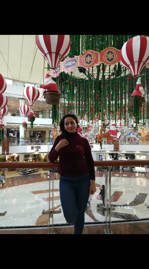 select city#xmas glory#fun time with frnd#decorations