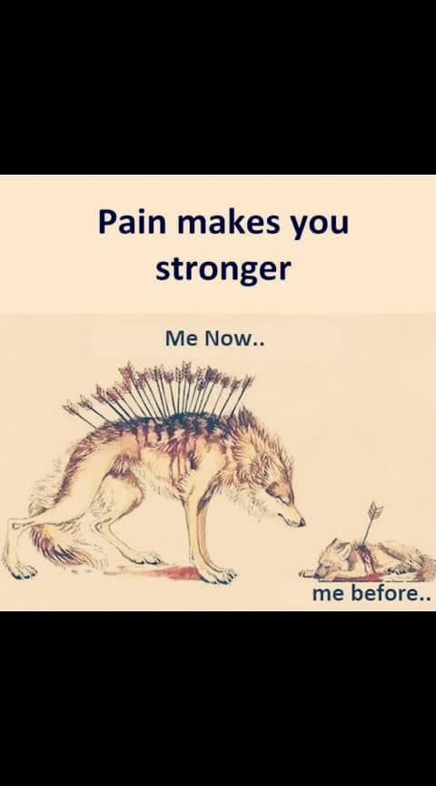 I'm habituated of this..... but still it pains little.......