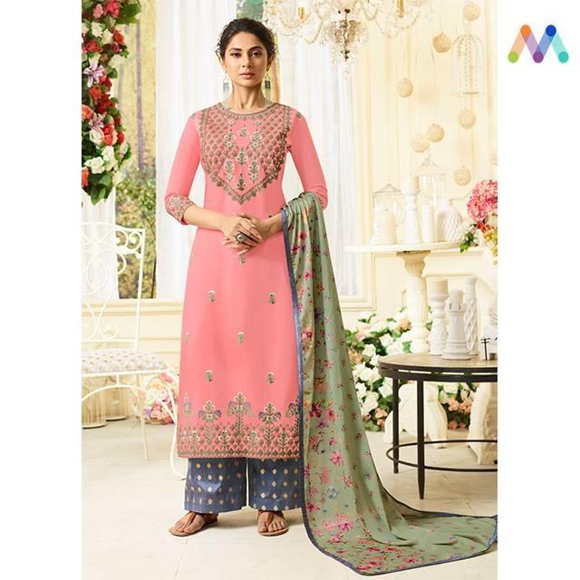 #jenniferwinget looks Absolutely breathtaking in this beautiful #pink straight cut suit available @ https://goo.gl/cY8DwP  Apply Code XMAS10 to get extra 10% Discount on all orders above $99 and 15% discount on all orders above $199 using code XMAS15 PRICE : INR 3206  $47USD  #wintersale #christmassale #xmasale #xmas #celebritystyle #indianfashion #bollywood #bollywoodactress #designerwear #indiandesigner #bollywoodfashion #ShopNow #Surat #mumbai #India #USA #unitedstates #canada #australia #dubai #uae #mauritius #London #uk