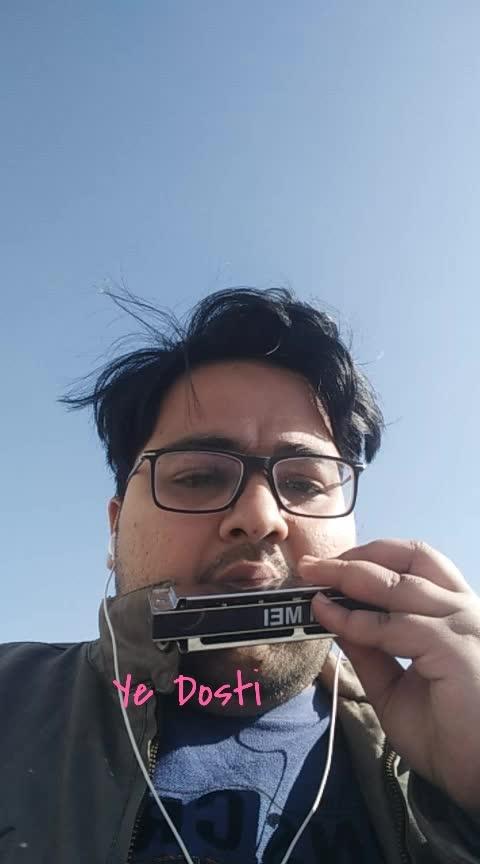 #harmonica #mouthorgan #mouth_organ #amitabhbachchan #bigb #dharmender #yedosti #dosti #friendship #friendshipgoals #roposo #roposolove #roposomusic #music #artist #performance #followmeformoreupdates #roposomasti #ranchi #roposo-masti #masti #rooftop #handsomelove #handsome
