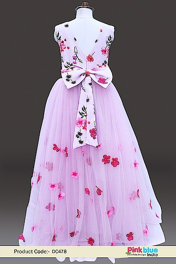 Flower Girl Party Wear Gown - Kids Birthday Party Dress Contact :+918000011699 Shop Now : https://www.pinkblueindia.com/kids-party-gown.html  #customisedgown #birthdaydress #birthdaygirl #flowergirldress #birthdayoutfit #madetoorder #kidsfashion #kidspartyweardress #girlsfashion #specialoccasion #designerwear #weddingdress #girlweddingdress #kidsclothes #PinkBlueIndia