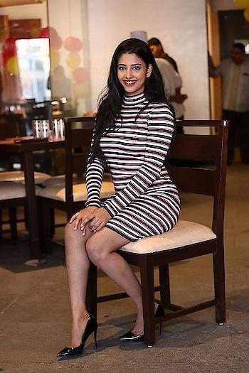 Daksha Nagarkar hot stills at Barbeque Pride Express Restaurant Launch https://www.southindianactress.co.in/telugu-actress/daksha-nagarkar/daksha-nagarkar-barbeque-pride-express-restaurant-launch/  #dakshanagarkar #southindianactress #teluguactress #tollywood #tollywoodactress #indianactress #indiangirl #indianmodel #actress #fashion #style #stripes #stripeddress #shortdress #shortskirt #hot #hotmodel #hotgirl #hotlegs #hotphotoshoot #hotphoto