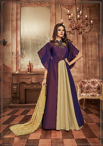 Designer Readymade Indo Western Gown Suits Collection...🎀😍 Price:- 3999/- 💗 Worldwide Shipping 💗 For Order/Price What-app us (+91) 8097909000 💗 Quality Assured 💗 Custom Stitching * * * * #salwar #salwarsuits #dress #readymadegown #readytowear #dresses #longsuits #suitsonline #embroidered #onlinefloralsuit #floral #fashion #style #gown #gowns #classy #designer #partywear #partyweargown #exclusive #ethnic #floralprinted #love #us #uk #usa #international #worldwideshipping 📦 ✈