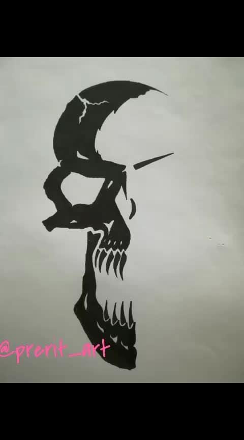 #skull #drawing #sketch #sketchings #art #blackandwhite #artist #artistsoninstagram