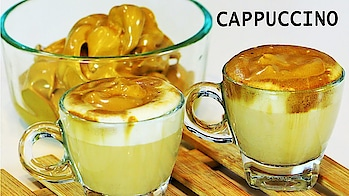 "Treat your self with winter special delicious and tasty ""Cappuccino"" recipe.. #ropo-love #ropo-good #ropo #roposo #ropo-post #recipe #recipes #recipeoftheday #recipevideo #food #foodiesofindia #foodlover #foodvideos #recipes 💞 #coffee #coffeelover #cappuccino"