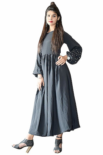 Rajkumari Designer Bohemian Black Maxi for Womens  Here are some beautiful dresses from the house of Rajkumari Designer for purchasing just click on the image #dress #designerdress #fashionabledress #moderndress #womendress    https://www.amazon.in/dp/B07LCFQNH2?ref=myi_title_dp