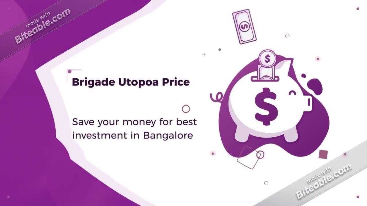 Brigade Utopia at Varthur Road East Bangalore #BrigadeUtopia #brigadeCornerstoneUtopia #varthurRoad #realestate