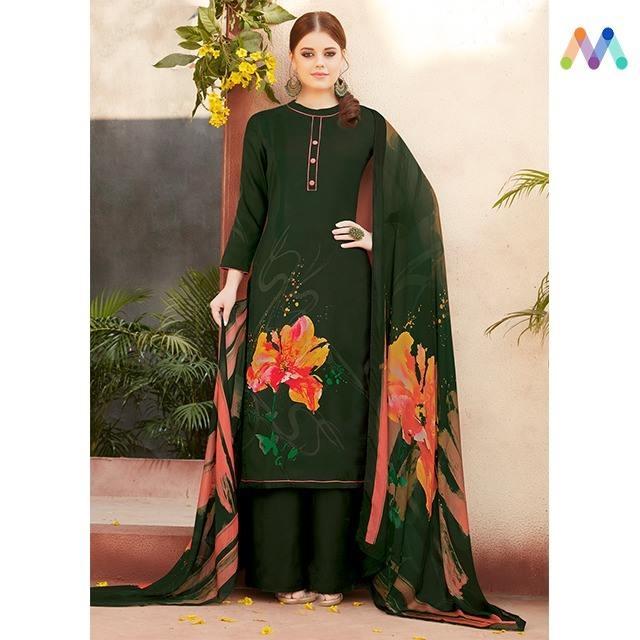 Look fashionable and fabulous with this pashmina suit available @ https://goo.gl/9Gbu16  Apply Code XMAS10 to get extra 10% Discount on all orders above $99 and 15% discount on all orders above $199 using code XMAS15 PRICE : INR 2999| $44USD  #newarrivals #shoponline #brandjinaam #Saini #digitalprint #stonework #pashmina #glitsandglam #winter #wintersale #christmassale #xmassale #EOSS #manndola #xmas #ootd #sneakpeek #newlaunch #indianfashion #USA #India #Canada #Australia #Dubai #UAE #Mauritius #London #Uk #shopnow