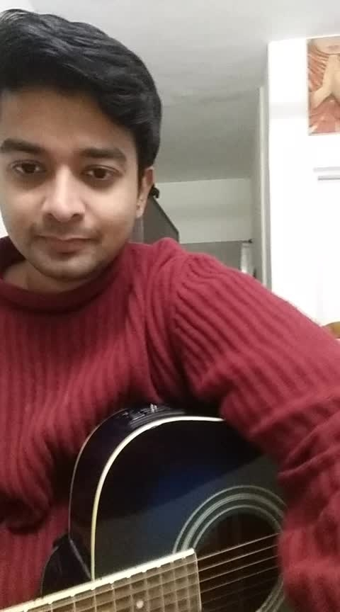 Singing Dooba Dooba by Mohit Chauhan  #shantanuarora #shanschoolofmusic #mohitchauhan #singer #guitar