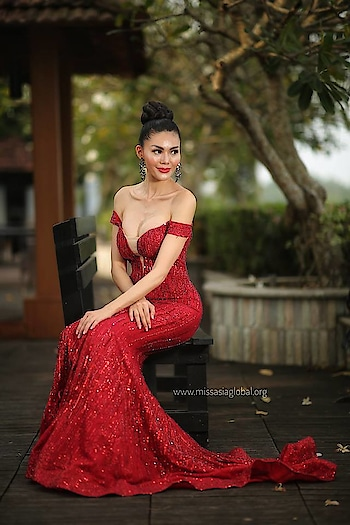 The Sensual Miss Vietnam for the photo shoot  #MissAsia2018 #missasiaglobal2018 #pegasusevent #godsowncountry #incredibleindia #manapuramfinance_LTD #DrAjitRavi #DQwatches #sajearthresorts #MissAsiaGlobal #Vietnam