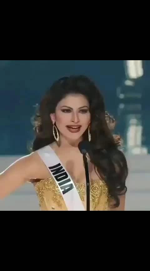 Urvashi representing India in miss world title #bikinigirl