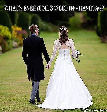 What's everyone wedding hashtag ??  #weddings #weddinghashtag #inspirations #creativewedding #weddingfun #couples #love