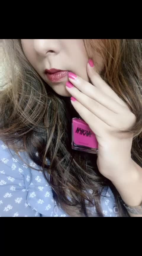 You can't be Sad when you're wearing Gorgeous Nails 💅 . . . . Wearing Nykaa Nail Enamel in the Shade Regal Peony 106 . . @nykaabeauty . . . . .  #nails #nailsofinstagram  #beautyinfluencer #bangalorebeautyinfluencer  #indianreviewblog  #pinknails  #indianbeautyblog #bangalorebeautyblog #January #january2019 #2019 #firstpostoftheyear2019  #indianblogger #nailenamel #nailpolishlove  #nailsofinstagram #nails💅 #nailswag #nailfie  #nykaanails #insta #instapic #instagood #instanails #instanail #instanailstyle