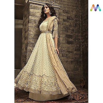 Anarkali love! The perfect time to shop for all your upcoming wedding and festive occasions .Grab this @https://goo.gl/15GaVL  Apply Code NEWYEAR10 to get extra 10% Discount on all orders above $99 and 15% discount on all orders above $199 using code NEWYEAR15 PRICE : INR3876 | $57USD  #newarrivals #shoponline #newyear #newlaunch #partywear #anarkali #embroidered #threadembroidered #crepe #georgette #net #sneakpeek #newyearsale #2k19 #indianfashion #USA #India #Canada #Australia #Dubai #UAE #Mauritius #London #Uk #shopnow