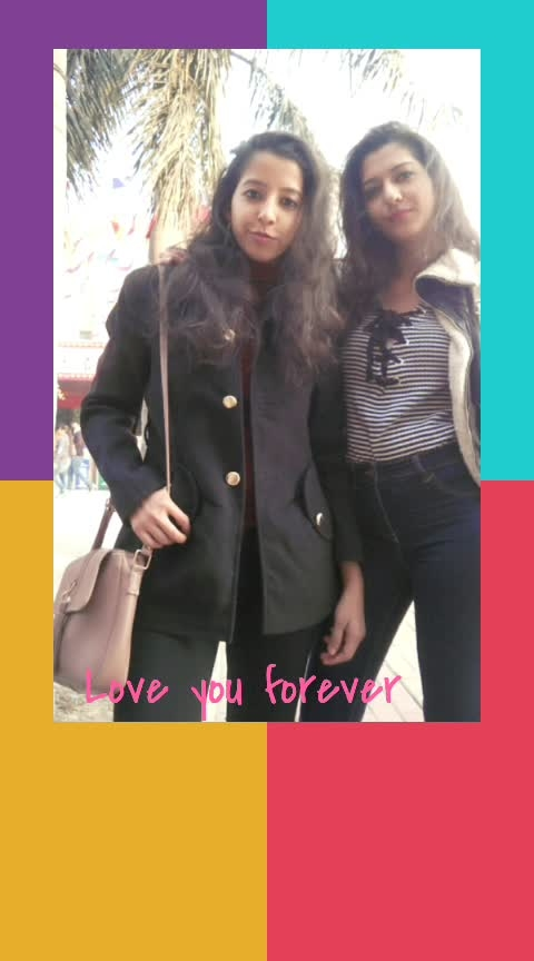 So happy to have spent my New Year day with my best person. Wish you stay with me forever through every thick and thin. Wish we stay like this, crazy together forever. God bless us! . . . #best #best-friends #bestfriendgoals #coolstyle #streetstylestories #streetfashion #streetstyle #dressup #be-fashionable #fashion #curlyhair #curlshairstyle #swag #poser #poserme #swagger #influencer #trendy #woman-fashion  #jeanslove #bootslove #boots #longboots #shortboots #black-white-striped #stripedtop #stripes #red-hot #black-and-white #black-and-red #red #bluejeans #navyblue  #highnecktops #mocknecktop #mockneck  #bomberjacket #coat #sling  #blessus #godbess #bazzi #mine #family #ropo-love #roposo-family #ropo-good #happynewyear2019 #2019 #happynewyear #newyear #newday #newfeel #hopeforthebest  #spreadlove #spreadhappiness