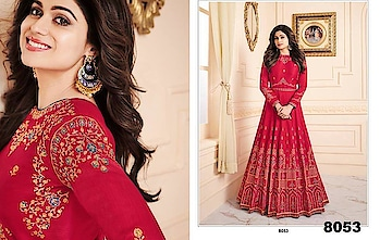 Grab This Lovely Shamita Shetty Designer Anarkali Suit...😍 Price:- 4499/- For Order What-app us (+91) 8097909000 🧚 Paytm Payment Accepted...!! 🧚Cash on Delivery Available (All Over India) 🧚Express Shipping...!! 🧚International Shipping Available...!! 🧚Custom Stitching..!! * * * * #salwar #salwarsuits #dress #dresses #longsuits #suitsonline #anarkalisuits #embroidered #onlinefloralsuit #floral #ShamitaShetty #bollywood #fashion-blogger
