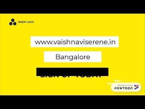 www.vaishnaviserene.in #vaishnaviSerene #vaishnaviGroup #ApartmentsinBangalore #FlatsinBangalore #yelahanka #northBangalore #prelaunchapartments