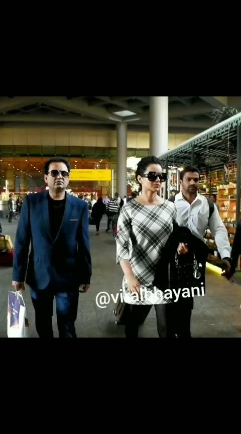 #kanganaranaut  #airportdiaries #kanganaranautfashion #kanganaranautfc #bollywood #bollywoodfashion #bollywoodstyle #manikarnika #movie #love #video #mumbaidiaries #delhidiaries #bollywoodactress #actor