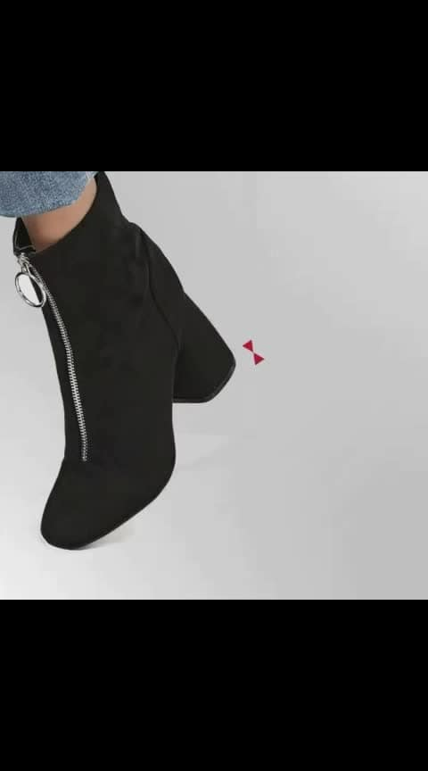 Utility meets fashion in these latest  boots from our #INTOTOxKOOVS collection  . . .  #INTOTOs #fashionforall #globaltrends #designershoes #trending #shoelove #dailyfashion #musthave #daylook #newcollection #womenswear #blackheels #collegewear #everyday #new #black #blockheels #boots #winterwear #winterfashion