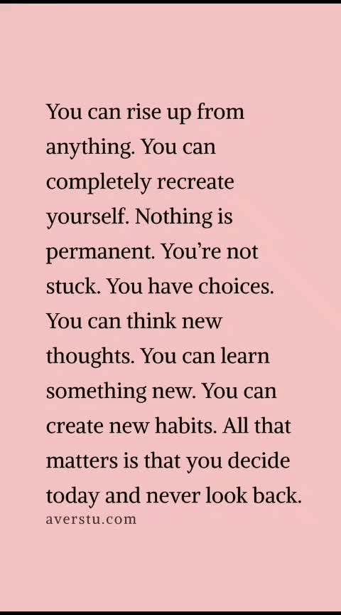 """#mindset   #perception   #""""today is never too late to be brand new""""  #lifelessons   #life-quotes   #beautiful-life   #quotesgram   #quotes   #ropo-good   #dontworrybehappy   #positive-attitude   #goodvibesonly   #stayawayfromnegativevibes   #peaceofmind   #peace   #feelgoodzone   #roposoness   #roposo   #so-ro-po-so"""