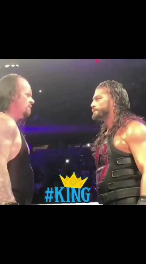 #the_undertaker  respect #romanreigns #wwenetwork #roposo-sports