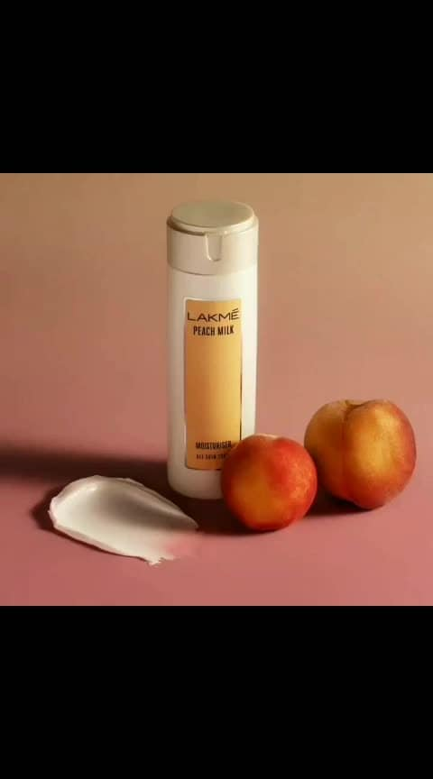 Want to know a secret? We have the ultimate skin-care solution to all your winter worries. For visibly smooth, peachy soft skin, Lakmé Peach Milk is all you need. #Lakme #LakmeIndia #Moisturiser #PeachMilk #WinterSkin #SkinCare #SoftSkin