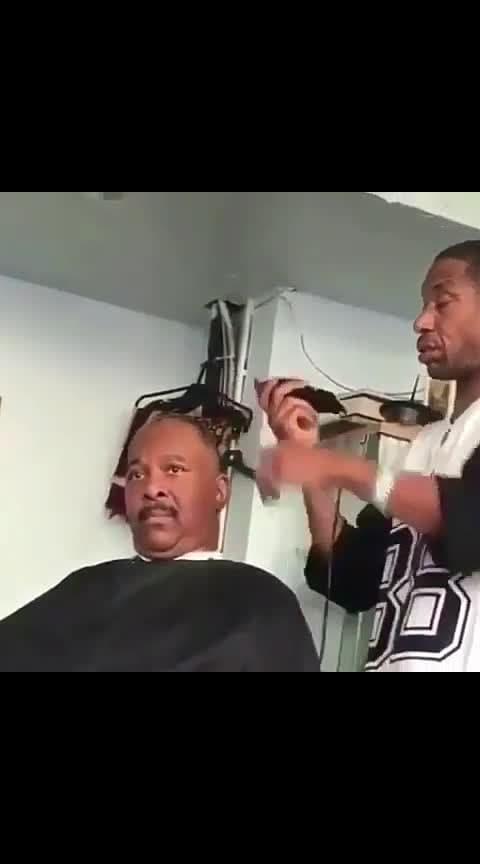 hair saloon 😂desi hangover 👌 haha #haha-tv #haha_funny #roposo-comedy #fun-on #nonvegjokes #hahatvchannel #viralvideos #trending #haircut #roposo-creative